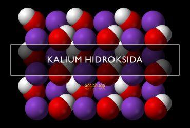 Kalium hidroksida (KOH): apa itu, sifak, kegunaan, struktur